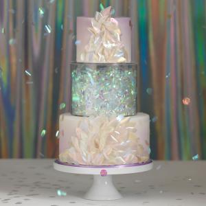 "Culpitt Fill-A-Tier Acrylic Cake Display 8"" x 6"""