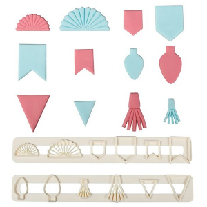 FMM Tappit Cutter - Decorative Bunting Set