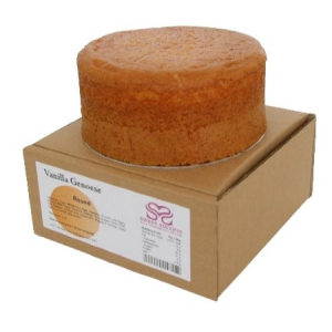 Sweet Success Vanilla Genoese Cake - Round