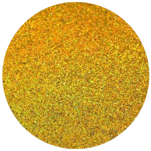 Design A Cake Ultra Fine Craft Glitter - Gold Hologram (5g)
