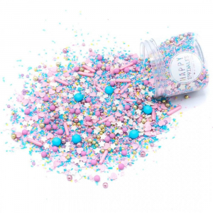 Happy Sprinkles Edible Sprinkle Mix - Cotton Candy (90g)