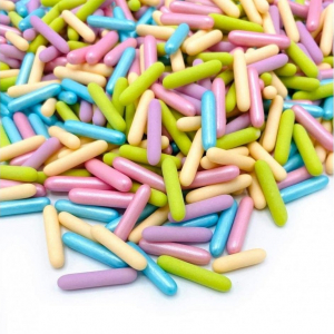 Happy Sprinkles Assorted Rods - Pastel Party (90g)