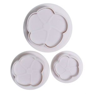 Cake Star Plunger Cutter - Hibiscus (Set of 3)