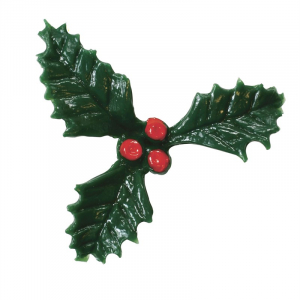 Culpitt Decoration - Triple Holly & Berries - Small