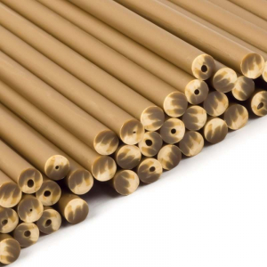 Plastic Lollipop Sticks - Gold - 150mm (Pack of 50)