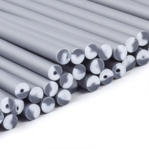 Plastic Lollipop Sticks - Silver - 150mm (Pack of 50)