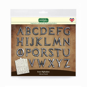 Katy Sue Designs Mould - Iron Alphabet