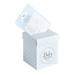 Club Green Prediction Cards And Postbox Set - Blue