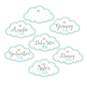 Club Green Assorted Guest Stickers - Unisex (Pack of 18)