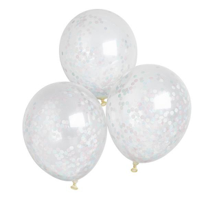 Club Green Confetti Balloons Unisex (Pack of 5)