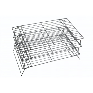 KitchenCraft Non-Stick Stackable Cooling Racks (Set of 3)
