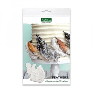 Katy Sue Designs Mould - Feathers