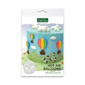 Katy Sue Designs Mould - Hot Air Balloons