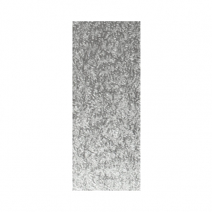 """Single Thick Turned Edge Cake Card - Oblong / Log - Silver - 8"""" x 4"""" (Pack of 25)"""