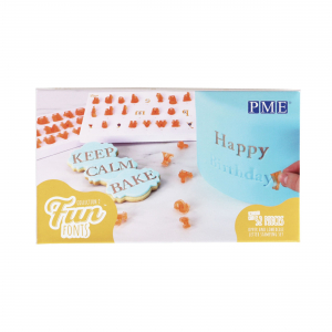 PME Fun Fonts - Collection 2 - Alphabet Stamping Set (52 Pieces)