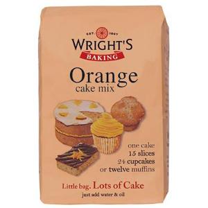 Wright's Cake Mix - Orange (500g)