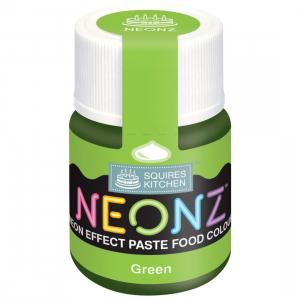 Squires Kitchen Neonz Paste Colour - Green (20g)