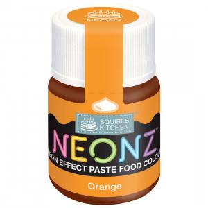 Squires Kitchen Neonz Paste Colour - Orange (20g)