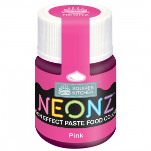 Squires Kitchen Neonz Paste Colour - Pink (20g)