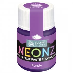 Squires Kitchen Neonz Paste Colour - Purple (20g)