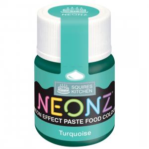 Squires Kitchen Neonz Paste Colour - Turquoise (20g)