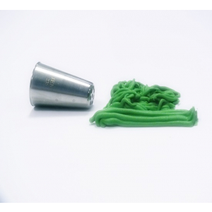 Jem Piping Nozzle - Grass / Lines Tube Large - No. 235