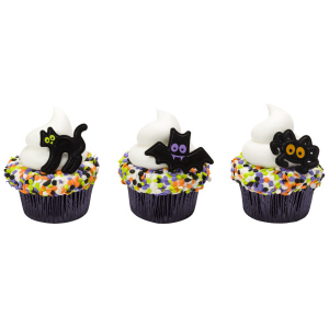 DecoPac Cake Ring Decoration - Classic Halloween Characters (Pack of 144)