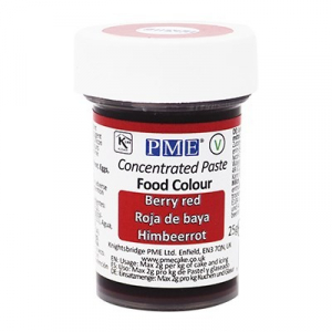 PME Paste Colour - Berry Red (25g)