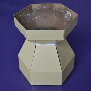 Purple Cupcakes - Cupcake Bouquet Box - Ivory