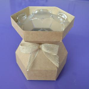 Purple Cupcakes - Cupcake Bouquet Box - Kraft