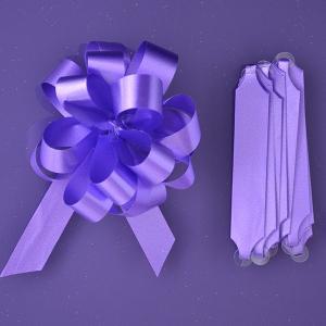 Purple Cupcakes Quick Pull Bow - Purple