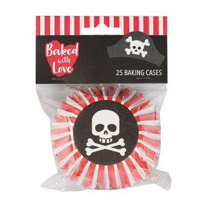 Baked With Love Premium Foil Baking Cases - Pirate (Pack of 25)