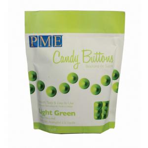 PME Candy Buttons - Vanilla - Light Green (340g)