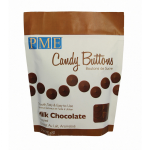 PME Candy Buttons - Milk Chocolate (340g)