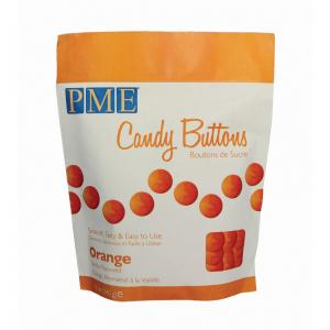 PME Candy Buttons - Vanilla - Orange (340g)
