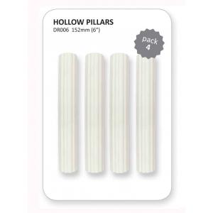 """PME Hollow / Hidden Pillars - 6"""" (Pack of 4)"""