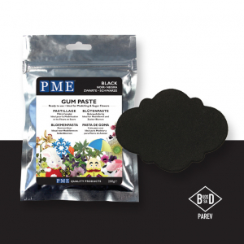 PME Gum Paste - Black (200g)