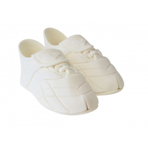PME Handcrafted Sugar Decoration - Sports Boots - White