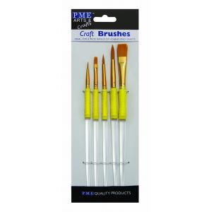 PME Craft Brushes (Set of 5)