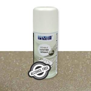 PME Alcohol Free Edible Lustre Spray - Pearl (100ml)