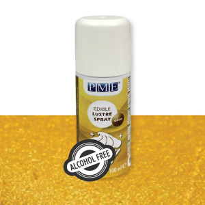 PME Alcohol Free Edible Lustre Spray - Gold (100ml)