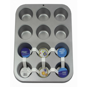 PME Bakeware - Non-Stick 12 Cup Muffin Pan