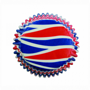 PME Patterned Cupcake Baking Cases - Patriotic Swirls (Pack of 60)