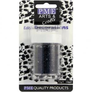 PME Glitter Flakes - Black (7g)