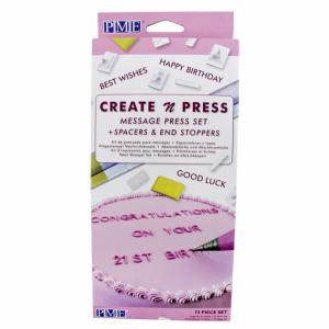 PME - Create N Press Message Set
