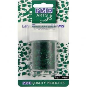 PME Glitter Flakes - Green (7g)