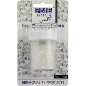 PME Glitter Flakes - White (7g)