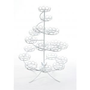 PME: Spiral Cupcake Stand - White