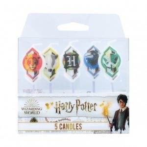 Culpitt Harry Potter - Hogwarts Candles (Pack of 5)