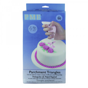 PME Parchment Paper Triangles - Pack of 50